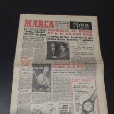 Coleccionismo deportivo - MARCA 5/01/1962. MUNDIAL CHILE 62 ESPECIAL URSS BOTAFOGO,3 - SANTOS,0. PELE OSASUNA OLIMPICOS V FC.B - 148180934