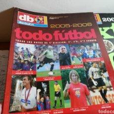 Coleccionismo deportivo: DON BALON TODOFÚTBOL 2005 2006. GUIA RESUMEN.. Lote 148245950