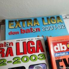 Coleccionismo deportivo: DON BALON EXTRA LIGA 2001 2002 Y 2002 2003. RESÚMENES. Lote 148246204