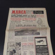 Coleccionismo deportivo - MARCA 10/06/1960. ESPECIAL PELÉ SEVILLA ENCINAS ENTRENADOR BURGOS. - 148337674