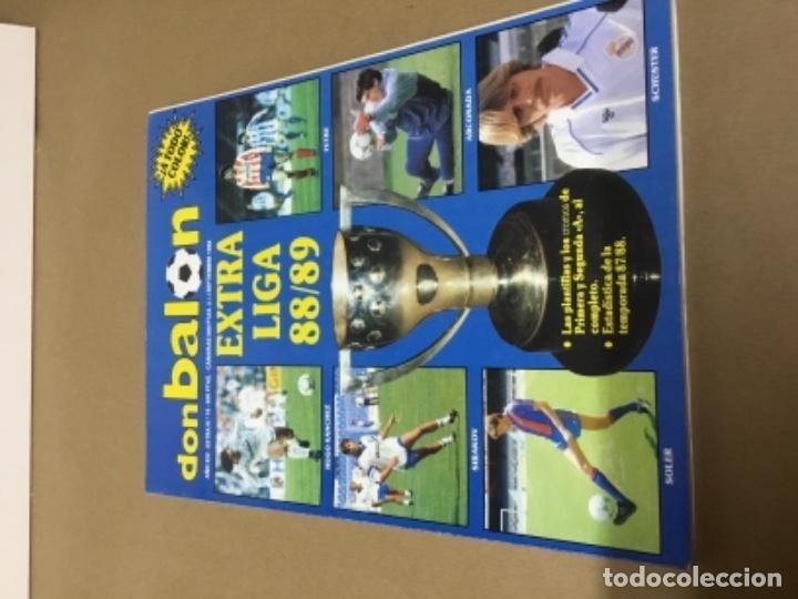 DON BALÓN EXTRA LIGA 88 89 EXCELENTE ESTADO (Coleccionismo Deportivo - Revistas y Periódicos - Don Balón)