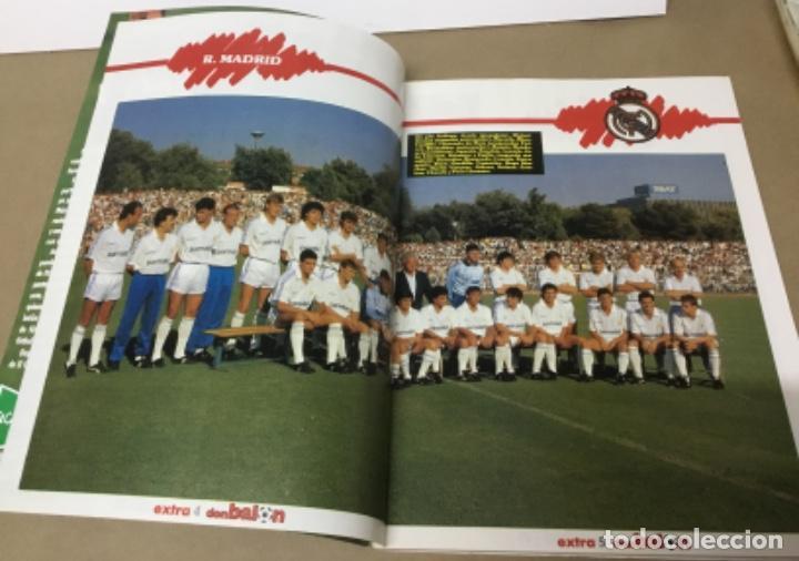 Coleccionismo deportivo: Don balón extra liga 88 89 excelente estado - Foto 7 - 148346926