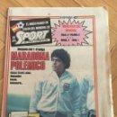 Coleccionismo deportivo: SPORT (15-6-1982) MUNDIAL ESPAÑA 82 MARADONA ARGENTINA ITALIA 0-0 POLONIA BRASIL 2-1 URSS. Lote 148667506