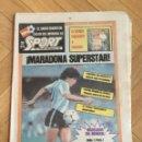 Coleccionismo deportivo: SPORT (19-6-1982) MUNDIAL ESPAÑA 82 MARADONA ITALIA 1-1 PERU BRASIL 4-1 ESCOCIA YUGOSLAVIA GILBERTO. Lote 148668294
