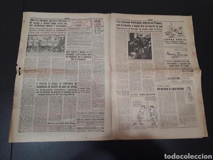 Coleccionismo deportivo: MARCA 8/01/1960. MANUEL BERMUDEZ POLO CORUÑA BOSCH MANCHESTER SETTERS CAMPEONATOS ESPAÑA SEL. JUVENI - Foto 2 - 148756981