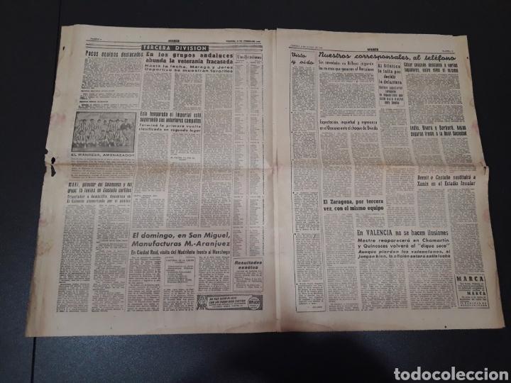 Coleccionismo deportivo: MARCA 8/01/1960. MANUEL BERMUDEZ POLO CORUÑA BOSCH MANCHESTER SETTERS CAMPEONATOS ESPAÑA SEL. JUVENI - Foto 3 - 148756981