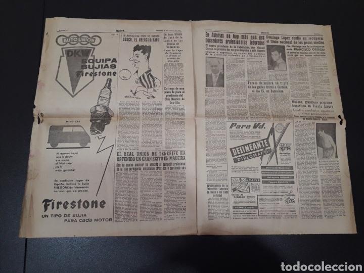 Coleccionismo deportivo: MARCA 8/01/1960. MANUEL BERMUDEZ POLO CORUÑA BOSCH MANCHESTER SETTERS CAMPEONATOS ESPAÑA SEL. JUVENI - Foto 4 - 148756981