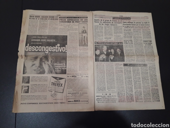 Coleccionismo deportivo: MARCA 8/01/1960. MANUEL BERMUDEZ POLO CORUÑA BOSCH MANCHESTER SETTERS CAMPEONATOS ESPAÑA SEL. JUVENI - Foto 5 - 148756981
