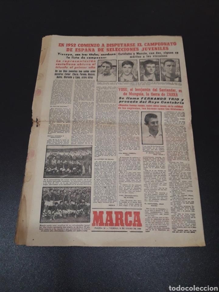 Coleccionismo deportivo: MARCA 8/01/1960. MANUEL BERMUDEZ POLO CORUÑA BOSCH MANCHESTER SETTERS CAMPEONATOS ESPAÑA SEL. JUVENI - Foto 6 - 148756981
