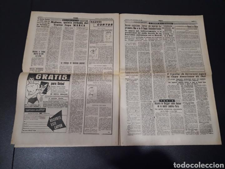 Coleccionismo deportivo: MARCA 29/10/1960. AUSTRIA V. ESPAÑA ESPECIAL OSASUNA LUIS SUAREZ TOTTENHAM. - Foto 4 - 148789496