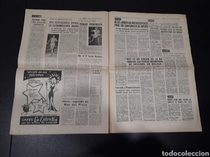 Coleccionismo deportivo: MARCA 10/01/1965. FC.BARCELONA AT.MADRID SASOT LAS PALMAS R.MADRID ECIJA ESPECIAL LEON LASA BETIS. - Foto 5 - 148790766
