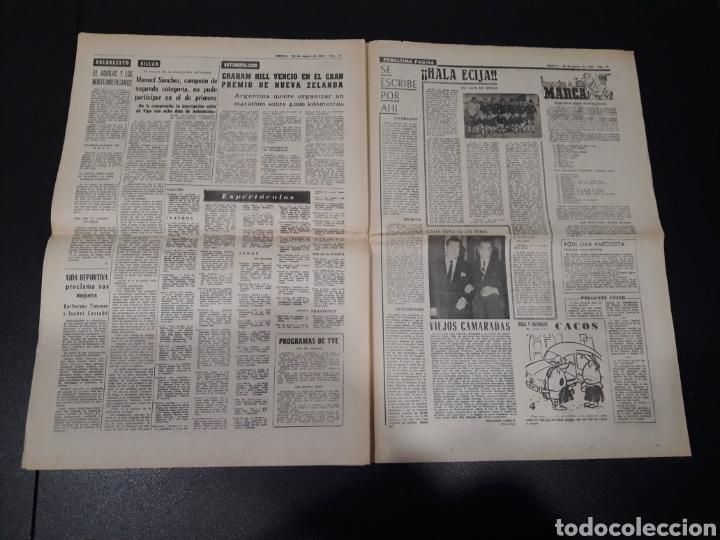 Coleccionismo deportivo: MARCA 10/01/1965. FC.BARCELONA AT.MADRID SASOT LAS PALMAS R.MADRID ECIJA ESPECIAL LEON LASA BETIS. - Foto 6 - 148790766