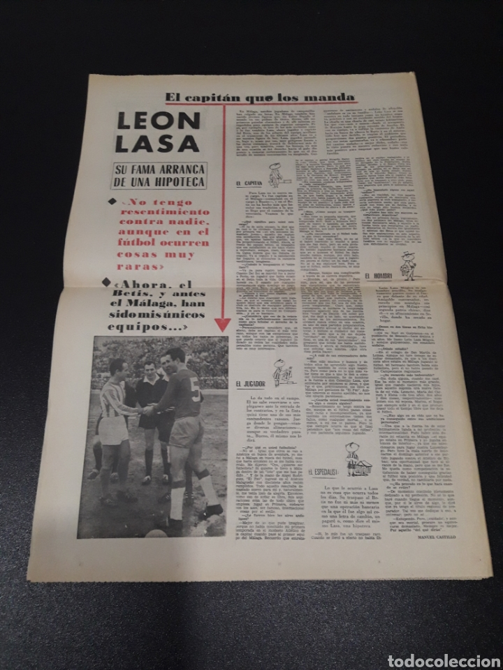 Coleccionismo deportivo: MARCA 10/01/1965. FC.BARCELONA AT.MADRID SASOT LAS PALMAS R.MADRID ECIJA ESPECIAL LEON LASA BETIS. - Foto 7 - 148790766