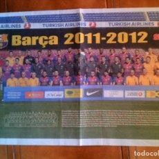 Collezionismo sportivo: POSTER DE SPORT BARÇA 2011,2012. Lote 148807966