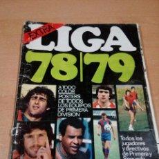 Coleccionismo deportivo: DON BALÓN - EXTRA LIGA 78 79- BUEN ESTADO INTERIOR CON BASTANTES MARCAS EN PORTADA. Lote 148842782