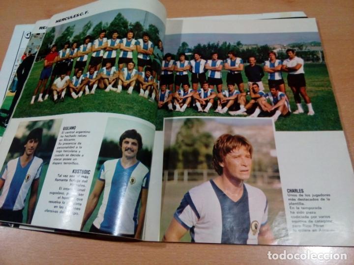 Coleccionismo deportivo: Don balón - extra liga 78 79- buen estado interior con bastantes marcas en portada - Foto 6 - 148842782