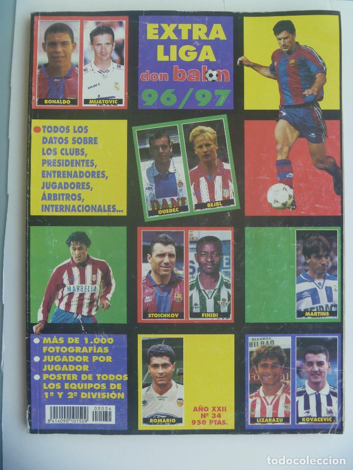 DON BALON : EXTRA LIGA 1996 / 97 . (Coleccionismo Deportivo - Revistas y Periódicos - Don Balón)