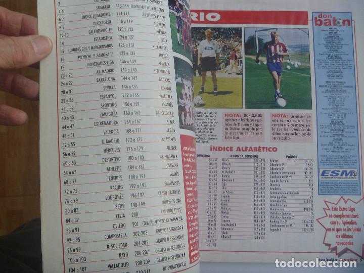 Coleccionismo deportivo: DON BALON : EXTRA LIGA 1996 / 97 . - Foto 2 - 149012702