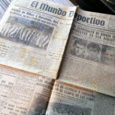 Coleccionismo deportivo: PERIODICO EL MUNDO DEPORTIVO- N° 5732, 22 FEBRERO 1942.. Lote 149108557
