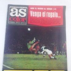 Coleccionismo deportivo: DIARIO AS COLOR NUMERO 283, 19 OCTUBRE 1976, POSTER HISTORIA REAL MADRID BALONCESTO, ARKONADA.. Lote 149214376