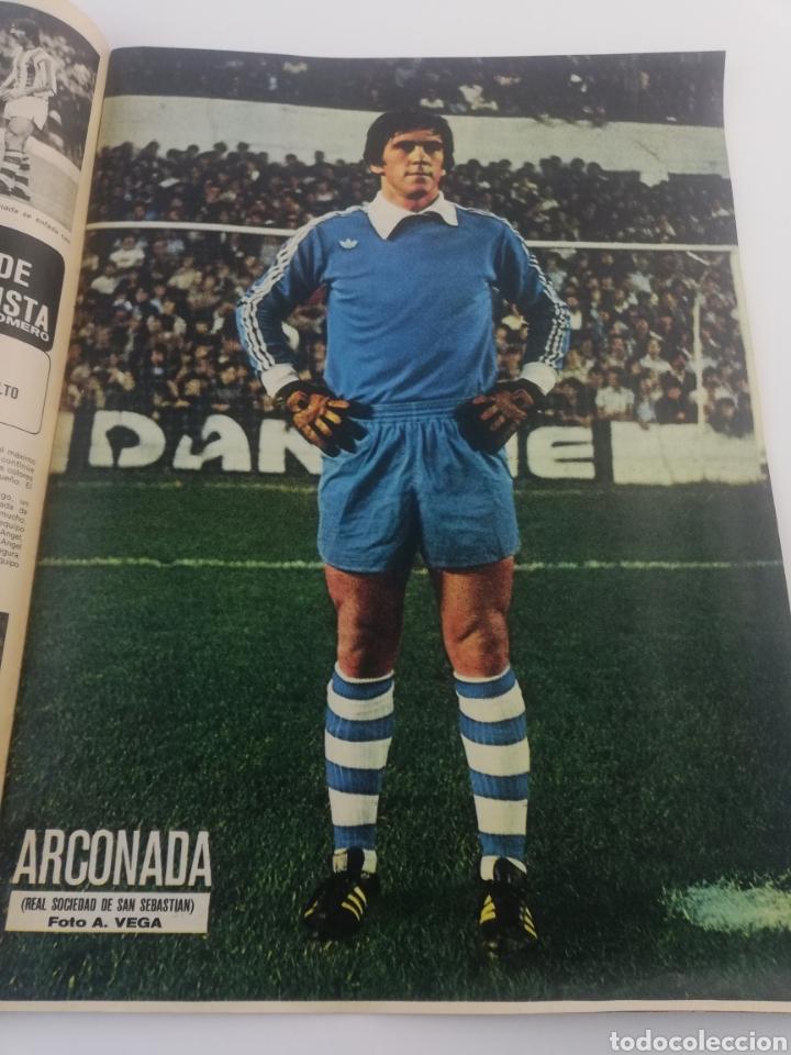 Sammelleidenschaft Sport: DIARIO AS COLOR NUMERO 283, 19 OCTUBRE 1976, POSTER HISTORIA REAL MADRID BALONCESTO, ARKONADA. - Foto 2 - 149214376