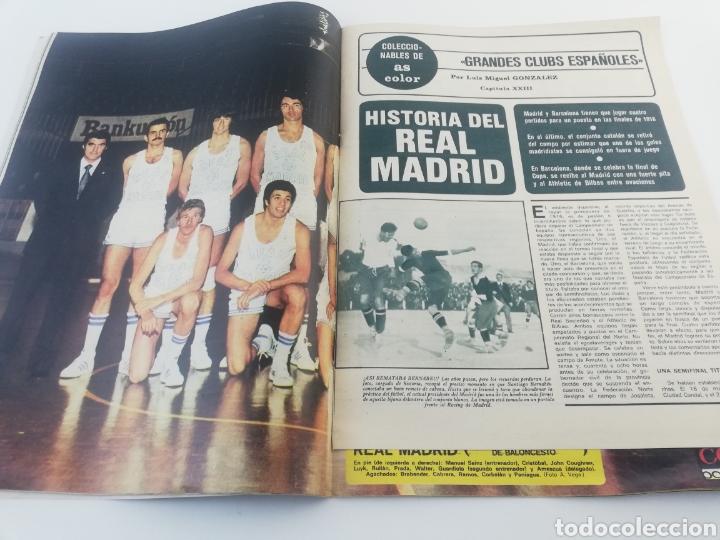 Sammelleidenschaft Sport: DIARIO AS COLOR NUMERO 283, 19 OCTUBRE 1976, POSTER HISTORIA REAL MADRID BALONCESTO, ARKONADA. - Foto 3 - 149214376