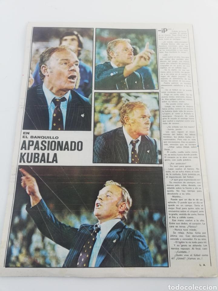 Sammelleidenschaft Sport: DIARIO AS COLOR NUMERO 283, 19 OCTUBRE 1976, POSTER HISTORIA REAL MADRID BALONCESTO, ARKONADA. - Foto 5 - 149214376