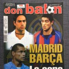 Coleccionismo deportivo: DON BALÓN FÚTBOL 1359 - PÓSTER VERÓN - PALERMO VILLARREAL - SAN LORENZO - LAMPARD - ARGENTINA. Lote 149329566