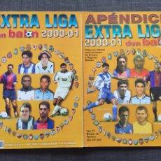 Coleccionismo deportivo: REVISTA FÚTBOL DON BALÓN EXTRA LIGA 2000-01 NÚMERO 52 Y APÉNDICE. Lote 149335201