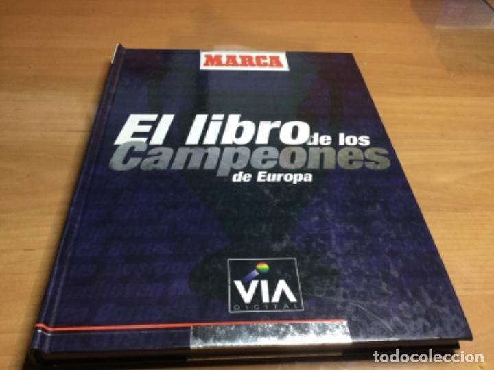 EL LIBRO DE LOS CAMPEONES DE EUROPA - ÁLBUM DE CROMOS (Coleccionismo Deportivo - Revistas y Periódicos - Marca)