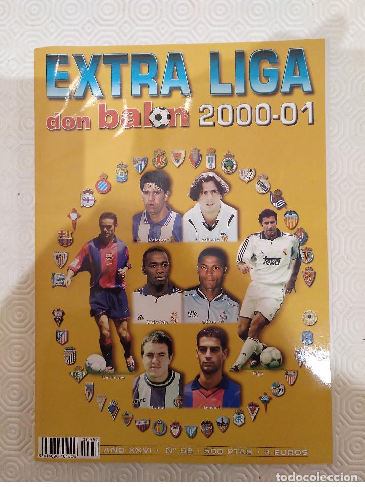 DON BALON. EXTRA LIGA 2000 2001. (Coleccionismo Deportivo - Revistas y Periódicos - Don Balón)