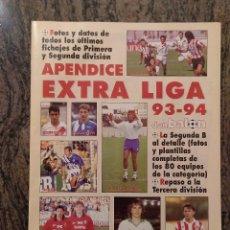 Coleccionismo deportivo: DON BALON. EXTRA LIGA APENDICE 93 94. Lote 149660966