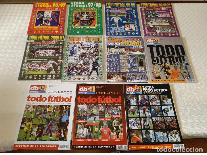 LOTE 11 TODO FUTBOL DON BALON DEL 1996-1997 AL 2006-2007. USADAS BUEN ESTADO (Coleccionismo Deportivo - Revistas y Periódicos - Don Balón)