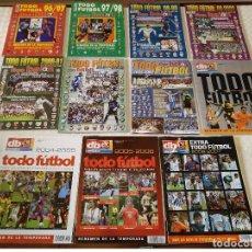Coleccionismo deportivo: LOTE 11 TODO FUTBOL DON BALON DEL 1996-1997 AL 2006-2007. USADAS BUEN ESTADO. Lote 149665058
