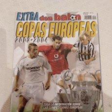 Coleccionismo deportivo: DON BALON EXTRA COPAS EUROPEAS 2003-2004.. Lote 149666366