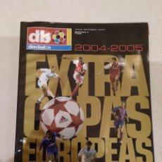 Coleccionismo deportivo: DON BALON EXTRA COPAS EUROPEAS 2004-2005.. Lote 149666442