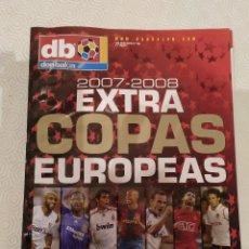 Coleccionismo deportivo: DON BALON EXTRA COPAS EUROPEAS 2007-2008.. Lote 149666634