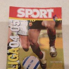 Coleccionismo deportivo: SPORT REVISTA ESPECIAL LIGA 2004 2005. Lote 149674034