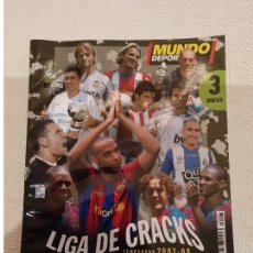 Coleccionismo deportivo: MUNDO DEPORTIVO. ESPECIAL LIGA 2007 2008. Lote 149674706