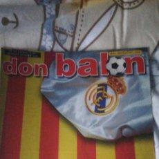 Coleccionismo deportivo: DON BALON NÚMERO 1401 REAL MADRID, ASSUNÇAO, FERGUSON... Lote 149712637