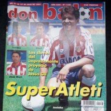 Collectionnisme sportif: REVISTA DON BALON. AÑO 1997. NUM. 1136. CON POSTER DE MIJATOVIC. Lote 149741266