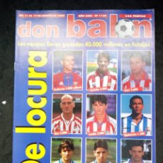 Collectionnisme sportif: REVISTA DON BALON. AÑO 1997. NUM. 1139. . Lote 149741326