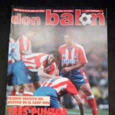 Collectionnisme sportif: REVISTA DON BALON. AÑO 1996. NUM. 1071. CON POSTER DE REAL SOCIEDAD. Lote 149741526