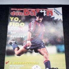 Coleccionismo deportivo: REVISTA DON BALON. AÑO 1996. NUM. 1063. CON POSTER DE DEPORTIVO. Lote 149742246