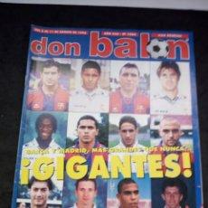Collectionnisme sportif: REVISTA DON BALON. AÑO 1996. NUM. 1086. Lote 149742370
