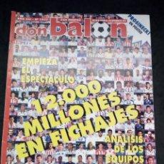 Collectionnisme sportif: REVISTA DON BALON. AÑO 1995. NUM. 1037. CON POSTER DE PROSINECKI EN BARCEL. Lote 149742718