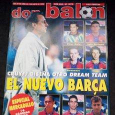 Coleccionismo deportivo: REVISTA DON BALON. AÑO 1996. NUM. 1072. CON POSTER DEL ZARAGOZA. Lote 149744586