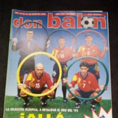 Collectionnisme sportif: REVISTA DON BALON. AÑO 1996. NUM. 1083. CON POSTER DE SELEC. ESPAÑOLA OLIMPICA. Lote 149744710