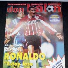 Collectionnisme sportif: REVISTA DON BALON. AÑO 1996. NUM. 1082.CON POSTER DE ALEMANIA, CAMPEON EUROCOPA. Lote 149744894