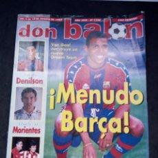 Collectionnisme sportif: REVISTA DON BALON. AÑO 1997. NUM. 1138. CON POSTER DE PANUCCI. Lote 149745078